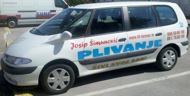JOSIP ŠIMUNOVIĆ - PLIVANJE